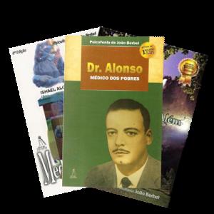 COMBO DR ALONSO, MEDICINA DO ALÉM, FITOTERAPIA DO ALÉM - LIVRO ESPIRITA